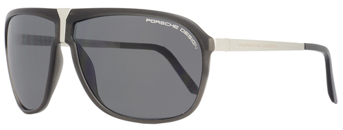 Porsche Design Wrap Sunglasses P8618 A Dark Gray/Palladium 8618