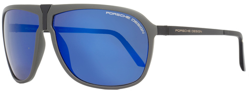 Porsche Design Wrap Sunglasses P8618 B Gray/Black 8618
