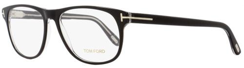 Tom Ford Oval Eyeglasses TF5362 005 Size: 55mm Black/Crystal FT5362