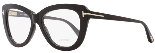 Tom Ford Butterfly Eyeglasses TF5414 001 Size: 53mm Black FT5414