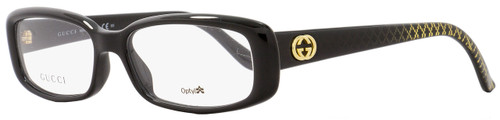 Gucci Rectangular Eyeglasses GG3567 W6Z Size: 52mm Black 3567