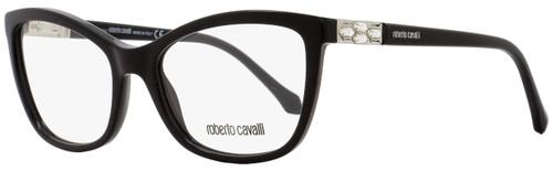 Roberto Cavalli Rectangular Eyeglasses RC867 Gacrux 001 Size: 54mm Black 867