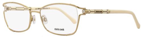 Roberto Cavalli Oval Eyeglasses RC964 Seginus A28 Size: 54mm Rose Gold/Ivory 964