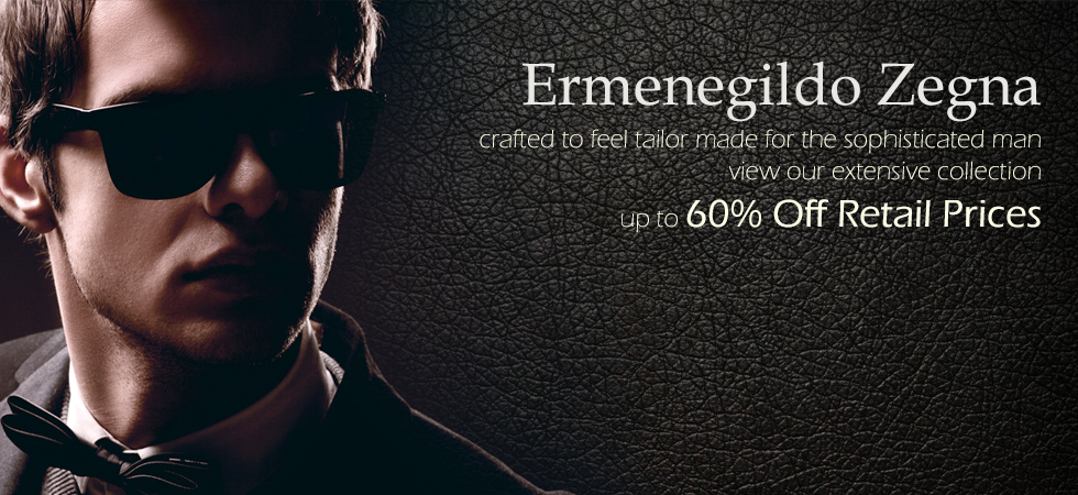 Ermegildo Zegna Sunglasses on Sale