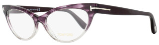Tom Ford Cateye Eyeglasses TF5317 083 Size: 54mm Violet Melange/Gray FT5317