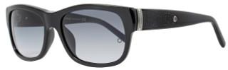 Montblanc Wayfarer Sunglasses MB371S 01B Shiny Black 371