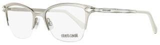 Roberto Cavalli Semi-Rimless Eyeglasses RC861 Diadema 024 Size: 50mm Palladium/White 861