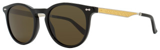 Gucci Oval Sunglasses GG1127S CSAEC Black/Palladium/Gold 1127
