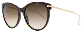 Gucci Oval Sunglasses GG3771S LVLCC Havana/Gold 3771