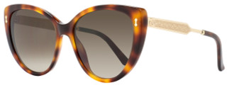 Gucci Cateye Sunglasses GG3804S CRXHA Dark Havana/Gold 3804