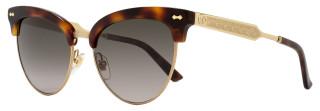 Gucci Cateye Sunglasses GG4283S CRXHA Dark Havana/Gold 4283