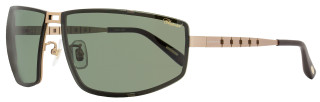 Chopard Wrap Sunglasses SCHB02M L45P Satin Rose Gold Polarized B02