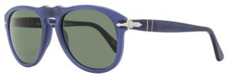 Persol Oval Sunglasses PO649 9020/58 Size: 54 mm Cobalto Antique Polarized 649