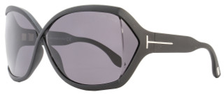 Tom Ford Butterfly Sunglasses TF427 Julianne 02A Matte Black FT0427
