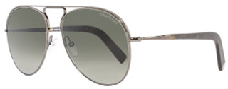 Tom Ford Aviator Sunglasses TF448 Cody 08B Gunmetal/Havana FT0448