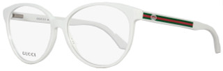 Gucci Oval Eyeglasses GG3148 KT9 Size: 55mm White 3148