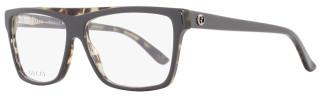 Gucci Square Eyeglasses GG3545 54Z Size: 55mm Gray/Havana 3545