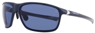 Tag Heuer Sport Sunglasses TH6023 27° 403 Matte Dark Blue Polarized 6023