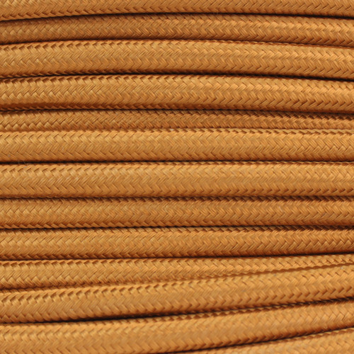3 Core Braided Antique Gold Round Flex 0.75mm [PLU58859]