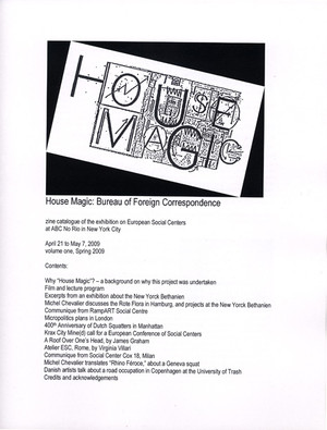 House Magic: Bureau of Foreign Correspondence