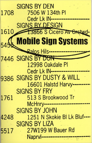 Mobile Sign Systems