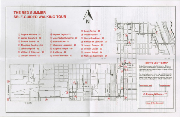 The Red Summer Self-Guided Walking Tour: Chicago [PDF-5]