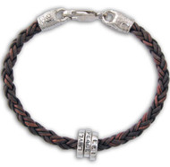 Leather Braid Bracelet