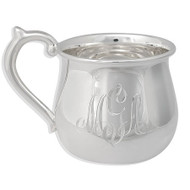 Large Baby Cup Sterling Silver