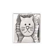 Aha! Cat Tag Pin