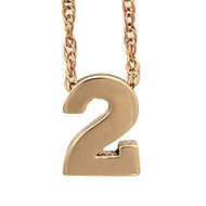 Numbers Pendant