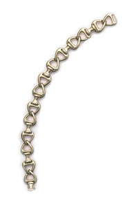 14k Gold Horse Tack Bracelet