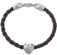 Big Heart Bead Bracelet