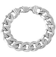 Heavy Curb Link Bracelet