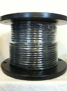 Belden 8281 010100 RG59 Black Double Braided RG 59/U Cable Wire 20 AWG, 250 Feet
