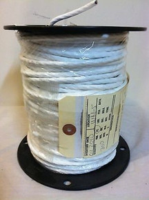 M16878/4 Mil-spec Wire AWG 26/2 STJ Shielded Teflon® PTFE Wire White 80 Feet