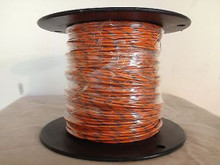 M22759/11-14-3 AWG 14 High Temperature Wire Teflon® Orange-Gray Stripe 500 Feet