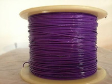 M22759/9 24 AWG High Temp Wire Teflon® type EE Purple 200C 1KV 875 Feet