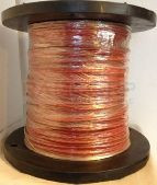 88723 / 2250AT2/CD/RED Wire 22-2 Pairs Shielded High Temp FEP Cable 1000FT