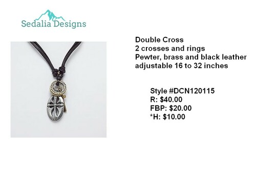 'Double Blessings' Necklace