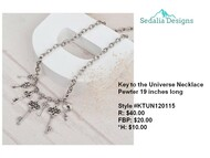 'Key to the Universe' Necklace