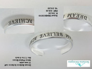 Dream-Believe-Achieve cuff