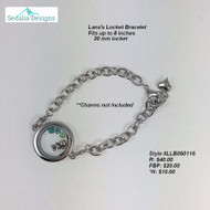 Lana's Locket Bracelet
