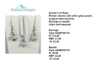Anchor's of Hope Bauble & Earrings