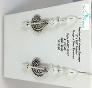 Feather & Arrow earrings