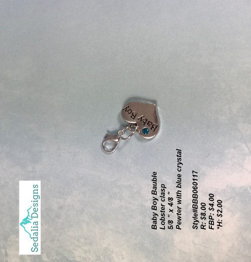 Baby Boy Bauble