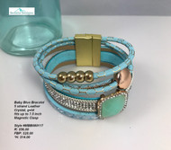 Magnetic Blue Bracelet