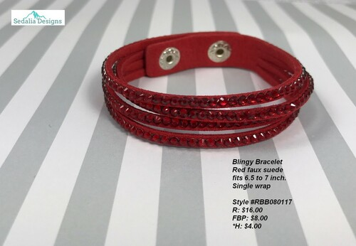 Red Blingy Wrap