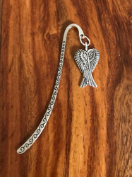 Resell for 9.00 or more Pewter angel wings Bookmark Style #AWB111317g