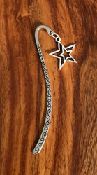 Resell for 9.00 or more Pewter star Bookmark Style #DSB112517g