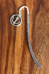 Resell for 9.00 or more Pewter anchor bookmark Style #CABM011118g